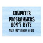 Byting Programmers Postcards