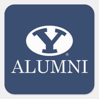 BYU Alumni Square Sticker