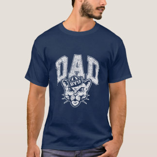 BYU Dad | Distressed T-Shirt