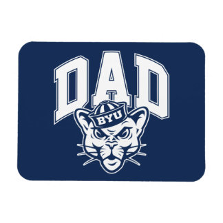 BYU Dad Magnet