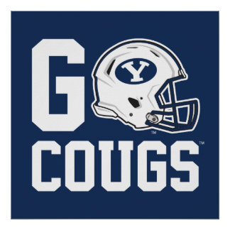 BYU Go Cougs Poster