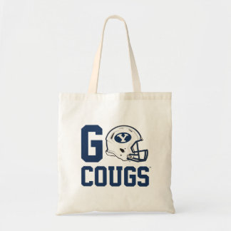 BYU Go Cougs Tote Bag