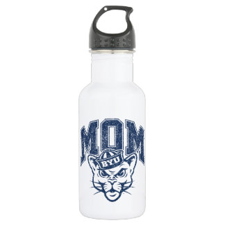 BYU Mom | Distressed Water Bottle