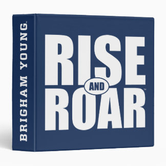 BYU Rise and Roar Binder