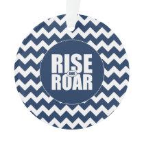 BYU Rise and Roar | Chevron Pattern Ornament