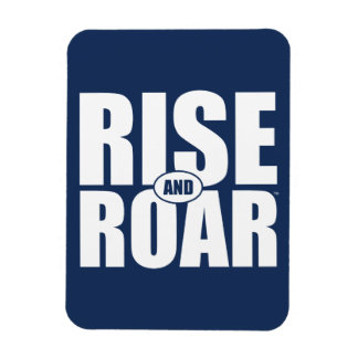 BYU Rise and Roar Magnet