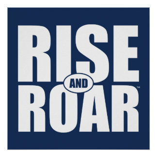 BYU Rise and Roar Poster