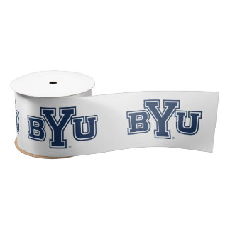 BYU SATIN RIBBON