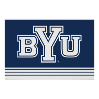 BYU | Stripes Poster