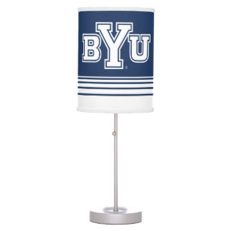 BYU | Stripes Table Lamp