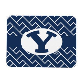 BYU Y | Fret Pattern Magnet