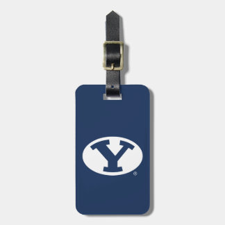 BYU Y LUGGAGE TAG