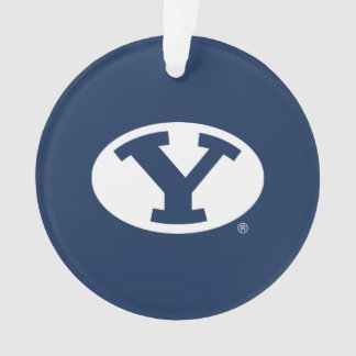 BYU Y ORNAMENT