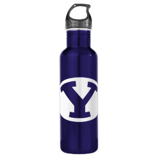 BYU Y STAINLESS STEEL WATER BOTTLE