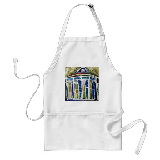 Bywater Blue Aprons