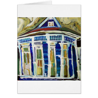 Bywater Blue Greeting Card