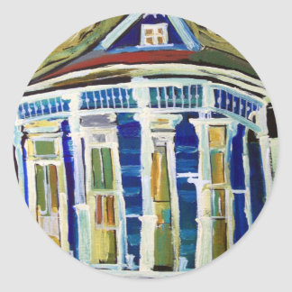 Bywater Blue Classic Round Sticker