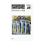 Bywater Blue Postage Stamp