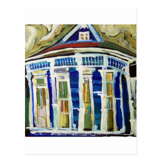 Bywater Blue Postcard