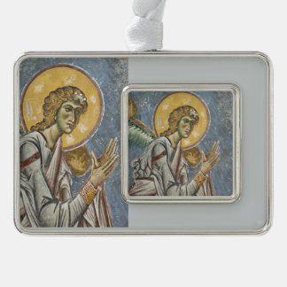 Byzantine Angel with Folded Hands Christmas Ornament