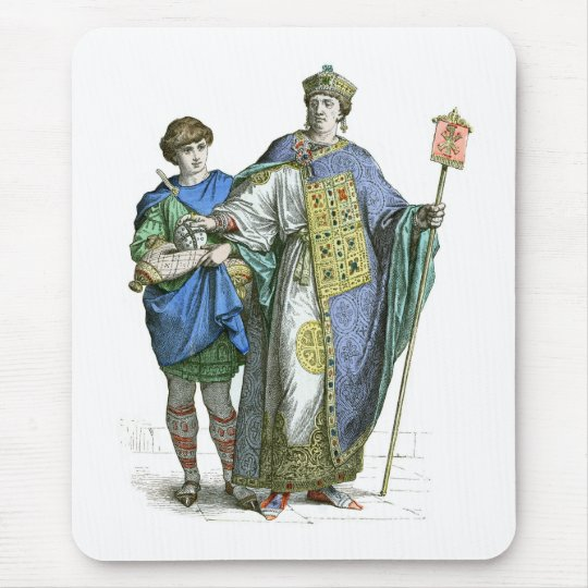 Byzantine Emperor Mouse Pad