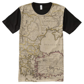 Byzantine Empire All-Over-Print T-Shirt