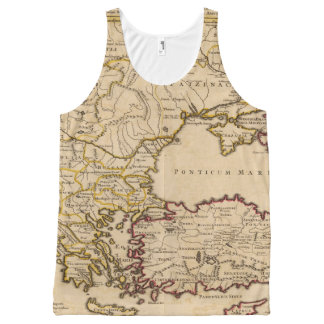 Byzantine Empire All-Over Print Tank Top
