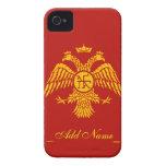 Byzantine Empire Flag iPhone 4 Case-Mate Case