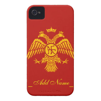 Byzantine Empire Flag iPhone 4 Cover