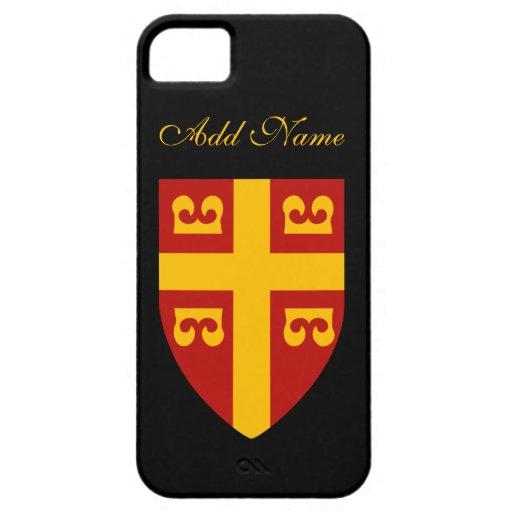 Byzantine Empire Flag iPhone SE/5/5s Case