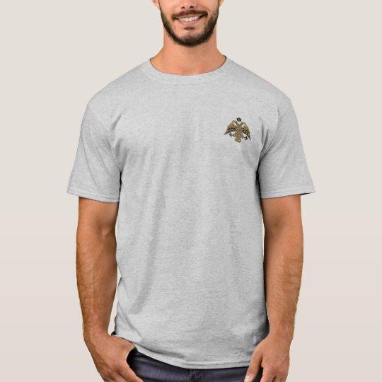 Byzantine Empire Two Headed Eagle Emblem Shirt