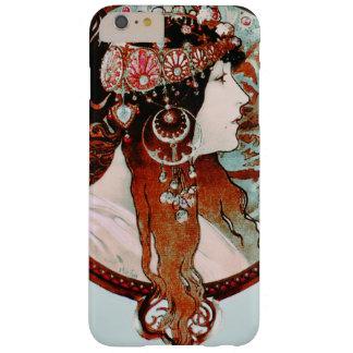 Byzantine Female Brunette Head Alphonse Mucha Barely There iPhone 6 Plus Case