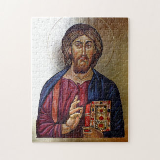 Byzantine Icon of Christ Pantocrator Jigsaw Puzzle