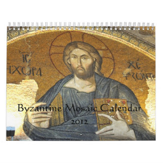 Byzantine Mosaic Calendar 2012