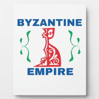 byzantine plaque