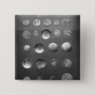 Byzantine, Roman and Sassanian coins Pinback Button