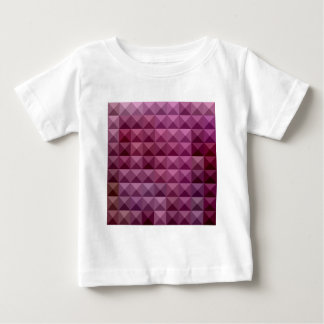 Byzantium Purple Abstract Low Polygon Background Baby T-Shirt