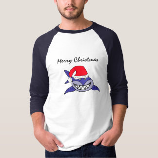 BZ- Santa Shark Christmas Shirt