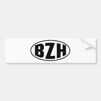 BZH Bretaña Bretón Breizh Pegatina Para Auto