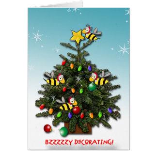 BZZZZZY DECORATING! CARD