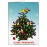 BZZZZZY DECORATING! GREETING CARDS