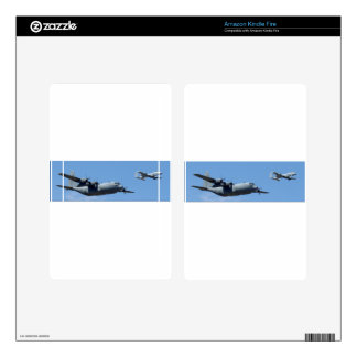 C130 HERCULES AND A10 WARTHOG IN FORMATION KINDLE FIRE DECAL