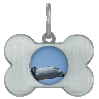 C130 HERCULES AND A10 WARTHOG IN FORMATION PET ID TAG