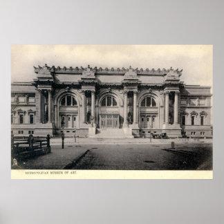 c1905 Metropolitan Museum of Art, New York Poster