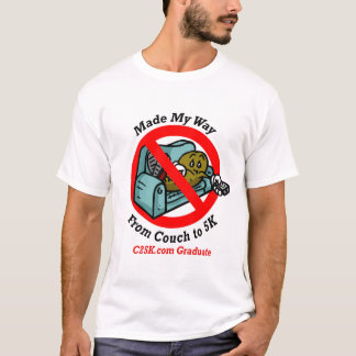 C25K Graduate's Micro Fibre Running Singlet T-Shirt
