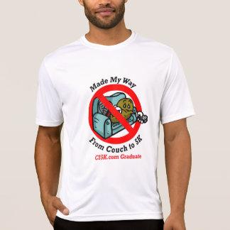 C25K para hombre gradúa la camiseta micro de la