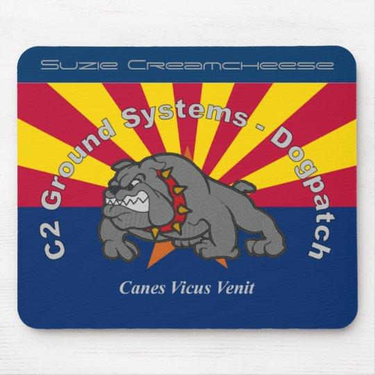C2 GS Logo w-AZ Flag Mousepad with your name