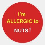 c2 - Soy alérgico - las NUECES Etiquetas
