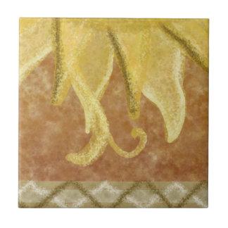 C2 - Sunface Mural, Bottom Middle - C2 Tile