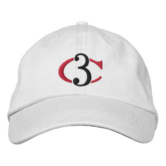 C3 Personalized Adjustable Hat Embroidered Hat